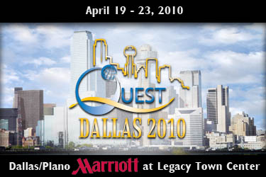 QUEST 2010 Software Testing Conference and EXPO in Dallas